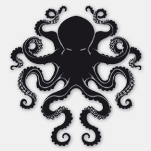 Octopi Covers Label
